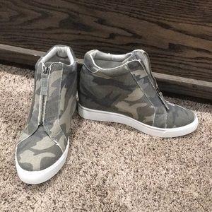 Camp Wedge Sneakers
